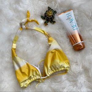 Vix Yellow Bikini Top